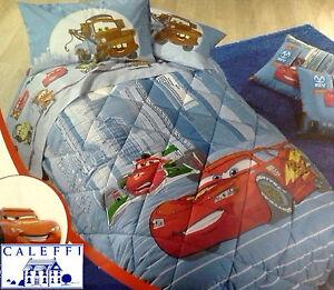 Piumone Letto Singolo Cars.Trapunta Piumone Trapunte Invernale Disney Caleffi Cars Due Singolo 1 Piazza Ebay