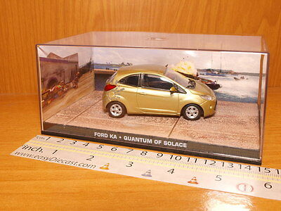 Ford Ka 1:43 Quantum Of Solace James Bond 007 Car Relieving Heat And Sunstroke Toys & Hobbies