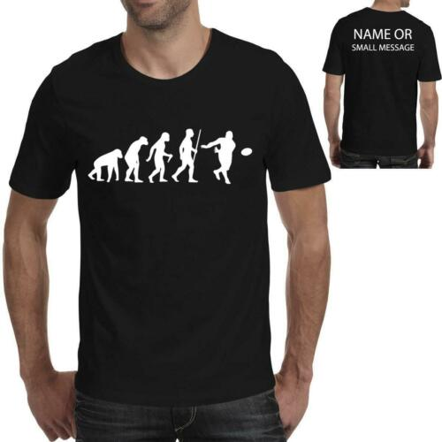 Evolution of Rugby Sports Player Funny Printed T shirt