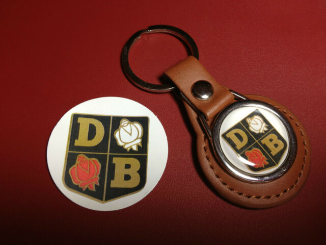 DAVID BROWN TRACTORS   REAL LEATHER KEY RING  &    PHONE STICKER / SECONDS