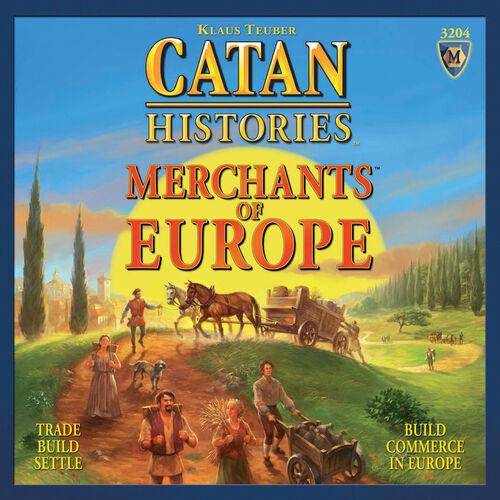 MERCHANTS OF EUROPE - MAYFAIR GAMES INC - SEALED - SENT 1ST CLASS