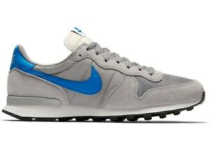 Details about Nike Internationalist Grey Blue White size 8.5. 828041,004.  air max flyknit tan