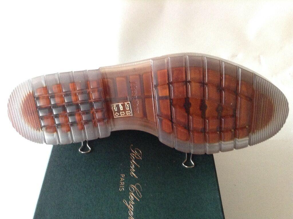 Robert glergerie, Parigi, stivali tg. 9,5 Caramel Caramel Caramel NP 400 EURO 8acffd