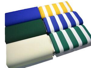 Tela Per Sedie A Sdraio.Tessuto Tela Per Sedia A Sdraio H 45 Cm Tinta Unito Righe Vendita Al