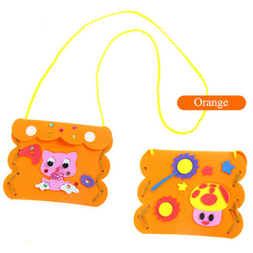 Creative Kids Children DIY Wallet Purse Hand Crafts Kits Puzzle Educational Toys