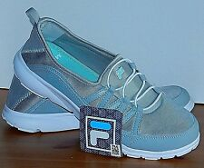 NEW Fila Ladies' Memory Foam Pilota Slip On Shoes Size 7