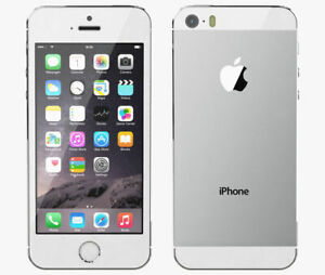 Apple-iPhone-5s-16GB-Unlocked-Silver-A1457-Fast-4G-Mobile-Smartphone-Cheap
