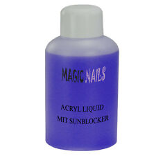 1000ML ACRYL LIQUID MIT SUN BLOCKER VIOLETT