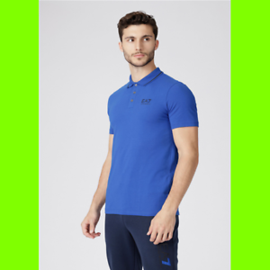 Ea7 Emporio Armani Polo Armani EA7 3GPF51  1582 ROYAL-XL  up to 65% off