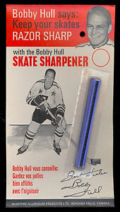 a7517e945f9 1960 s BOBBY HULL Skate Sharpener in NM COND Original Package ...