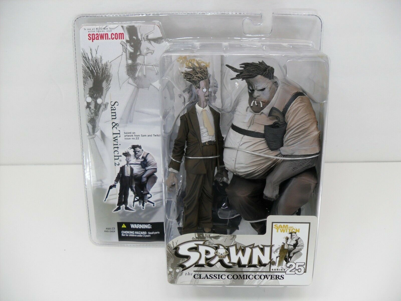 2004 McFarlane Spawn Classic Comic Covers Series 25  Sam & Twitch 2  i.22 Figure