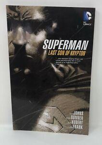 SUPERMAN-LAST-SON-OF-KRYPTON-Geoff-Jones-Donner-Kubert-TPB-Graphic-Novel
