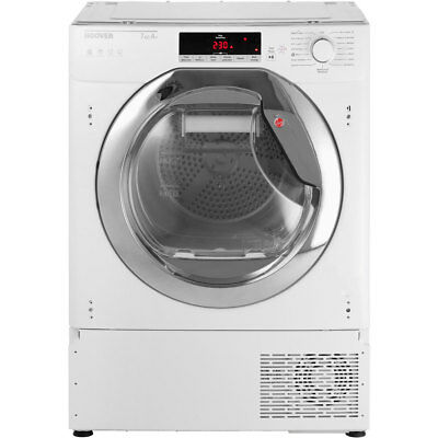 Hoover HTDBWH7A1TCE A+ Heat Pump Tumble Dryer Condenser 7 Kg White / Chrome