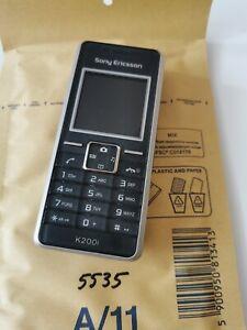 Sony Ericsson k200i-Metallic Black (entsperrt) Handy