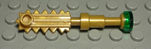 1322 # Lego Figur Zubehör Waffe Ninjago Gold Transparent Grün
