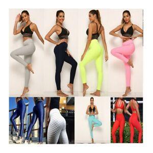 Women-039-s-Anti-Cellulite-Yoga-Pants-Push-Up-Leggings-Sports-Fitness-Gym-pants
