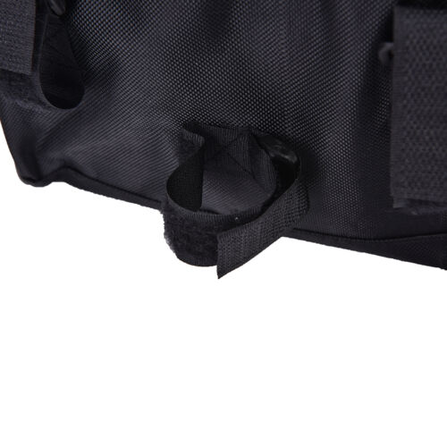 Bike Bicycle Cycling Outdoor Front Basket Pannier Frame Tube Handlebar Bag VE