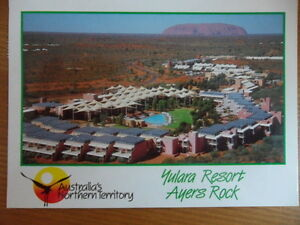 Old-Postcard-Yulara-Resort-Ayers-Rock