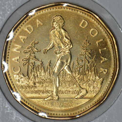 CANADA 1$ Dollar 2005 Marathon of hope - Terry Fox 25th anniversary in MS