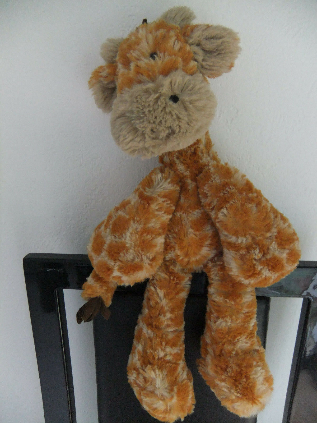 11  JELLYCAT JELLY CAT GIRAFFE GINGER TAN SMALL SOFT CUDDLY TOY MERRYDAY J1375