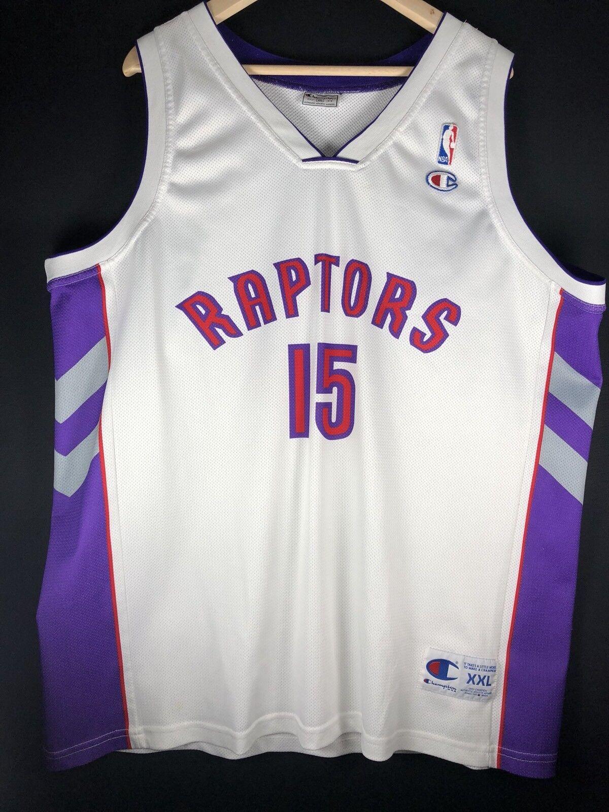 NEUW Vince Carter Tornto Raptors maillot XXL Basket Jersey NBA TMAC McGrady