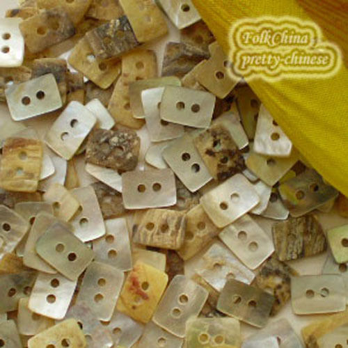 Oblong 10mm Mother Of Shell Buttons Sewing Scrapbooking Beads Craft MOPSB04