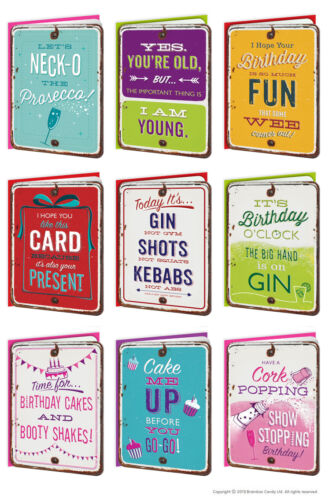 Funny Birthday Greeting Cards Witty Amusing Comedy Humour Quirky Cheeky Joke