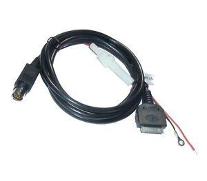 Adapter-Kabel-mit-5V-Ladefunktion-fuer-iPhone-iPod-VW-Audi-Navi-MFD-RNS-AUX