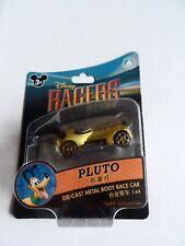 NIB Disney Shanghai Racers Pluto 1:64 Scale Die-cast Metal Body Race Car
