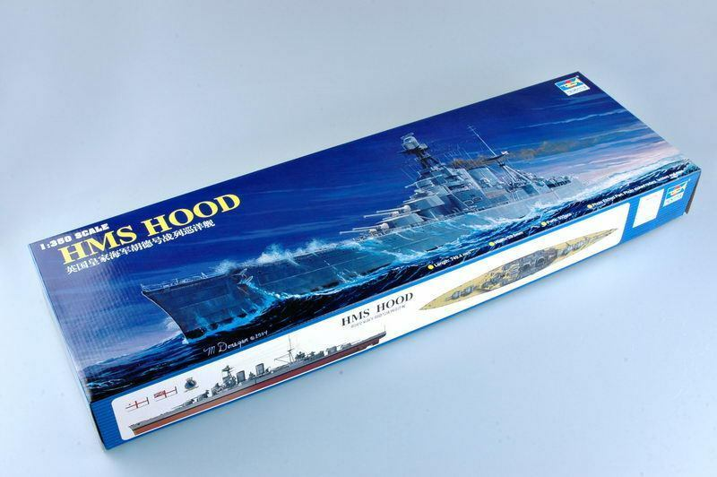 Trumpeter 1 350 05302 HMS Battle Cruiser Hood