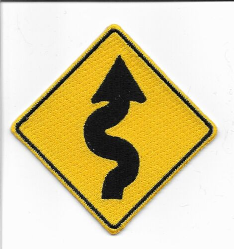 Curves Sign Embroidered Iron On Patch Applique wx0042