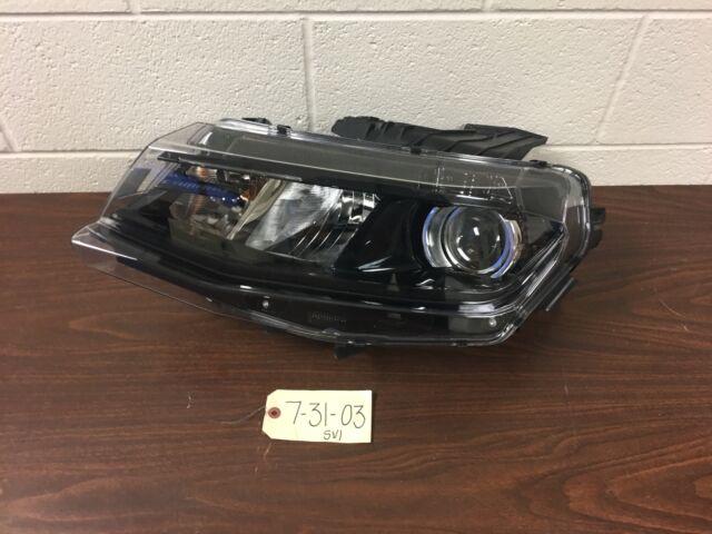 Outer Tab Gone OEM Chevrolet Camaro Left Driver Side Halogen Headlamp 23509013