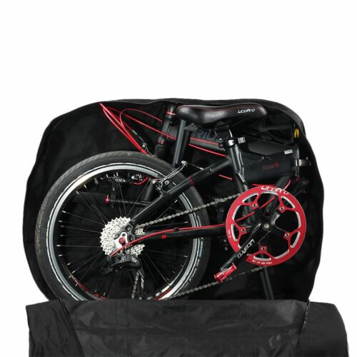 "Rhinowalk Bike Storage Bag 14/"" 16/"" 20/"" Folding Bicycle Carrying Bag Travel Pouch"