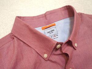 Jack-Spade-100-Cotton-Red-Micro-stripe-Pattern-Sport-Shirt-XL-NWT-98