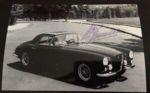Photo-Signed-Designer-Pininfarina-Aldo-Brovarone-Ferrari-375-Coupe-Speciale