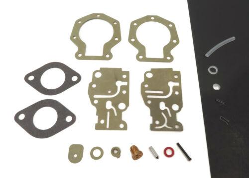 TJ10RLCES TE10RLCES Carburetor Repair Kit fits 1989 Johnson 9.9HP TJ10ELCES
