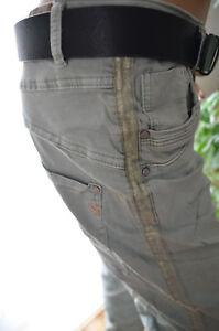 66ba865de9e9ec Das Bild wird geladen KAROSTAR-LEXXURY-Baggy-Boyfriend-Jeans-Hose-Damen- gruen-