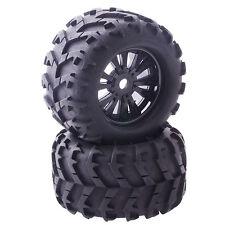 4PCS RC Car Off Road 1/8 Monster Truck Bigfoot Tyres Tires 17mm HEX Wheel Rim