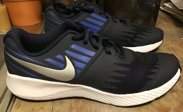 "bc0bceff28f Nike ""star Runner"" Sz 4y Grade School Boys Running Shoe DK Blue for ..."