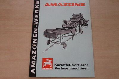 162882) Amazone Verlesemaschine Prospekt 03/1979 Lassen Sie Unsere Waren In Die Welt Gehen