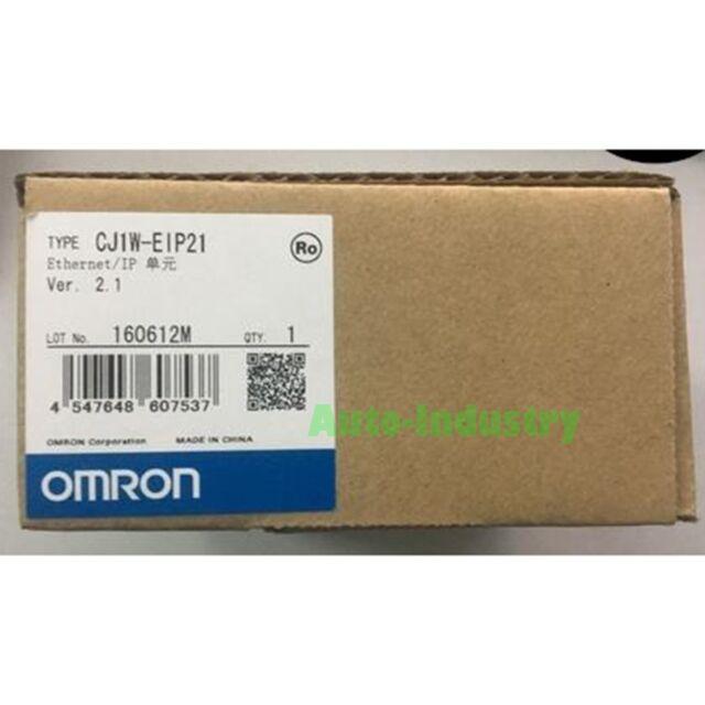 New In Box Omron CJ1W-EIP21 CJ1WEIP21 Ethernet Module PLC One year warranty