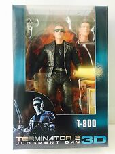 """NECA TERMINATOR 2-T-800 (Arnie) 7"""" Action Figure 25th ANNIVERSARIO 3D Release"""