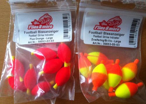 Football-Bissanzeiger 4 Stück groß 17mm Farbwahl wiederverwendbar by AVR