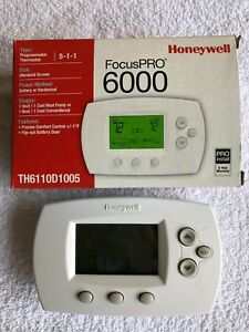 research.unir.net Honeywell FocusPRO 6000 TH6110D1005 Programmable ...