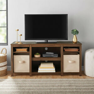 Details About Tv Stand Entertainment Center Furniture Media Storage Shelf Modern Home Table