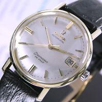1963 Vintage Omega Seamaster De Ville Cal 562 Automatic Silver Dial Men's Watch