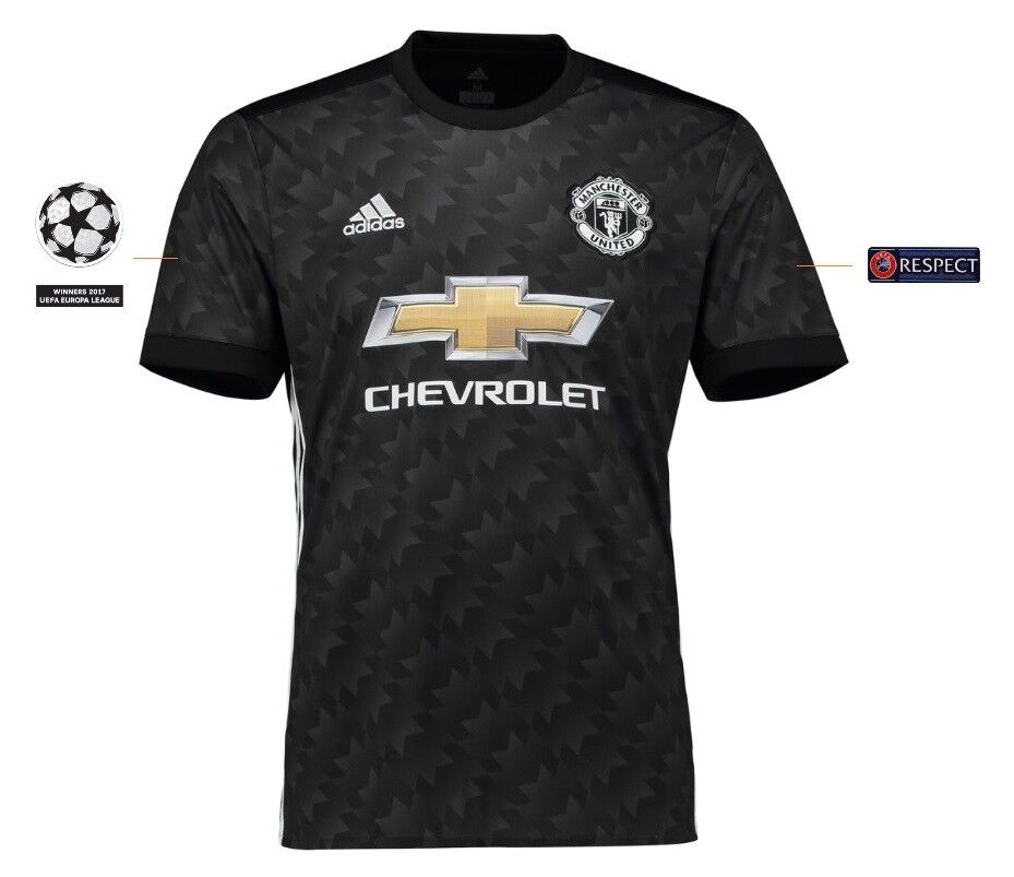 Trikot Adidas Manchester United 2017-2018 Away UCL  Champions League