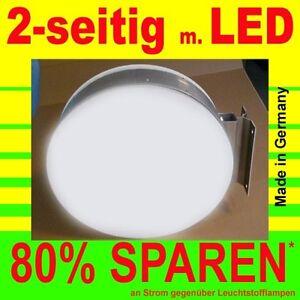 LED Leuchtkasten 2-seitig beleuchtet 600 x 600 x 138 mm Aussteller Nasenkasten