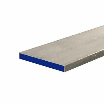 """304 Stainless Steel Rectangle Bar 1//4/"""" x 2/"""" x 12/"""""""