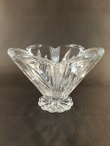 Clear-Cut-Crystal-Footed-Candy-Dish-6-034-X-4-034
